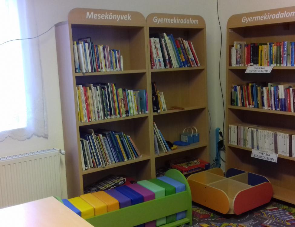 Nagycsány könyvtár