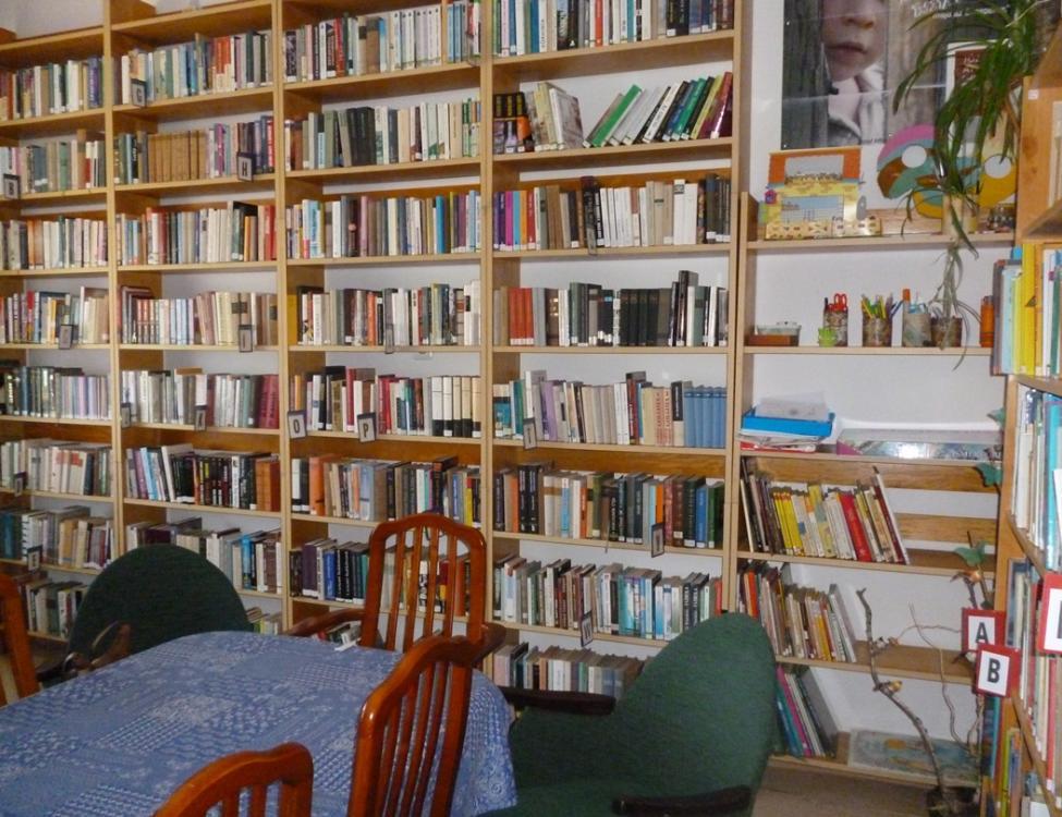 Almamellék könyvtár