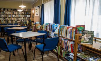 Olasz könyvtár