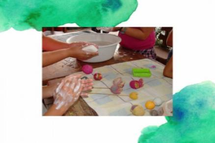 Kézműves foglalkozás
